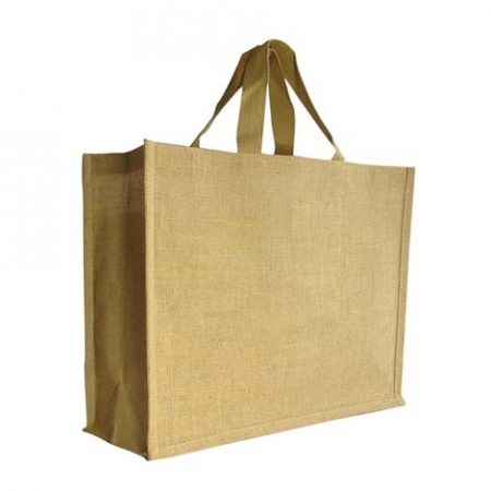 Standard jute shopping bag
