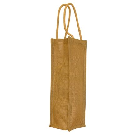 wine jute bag